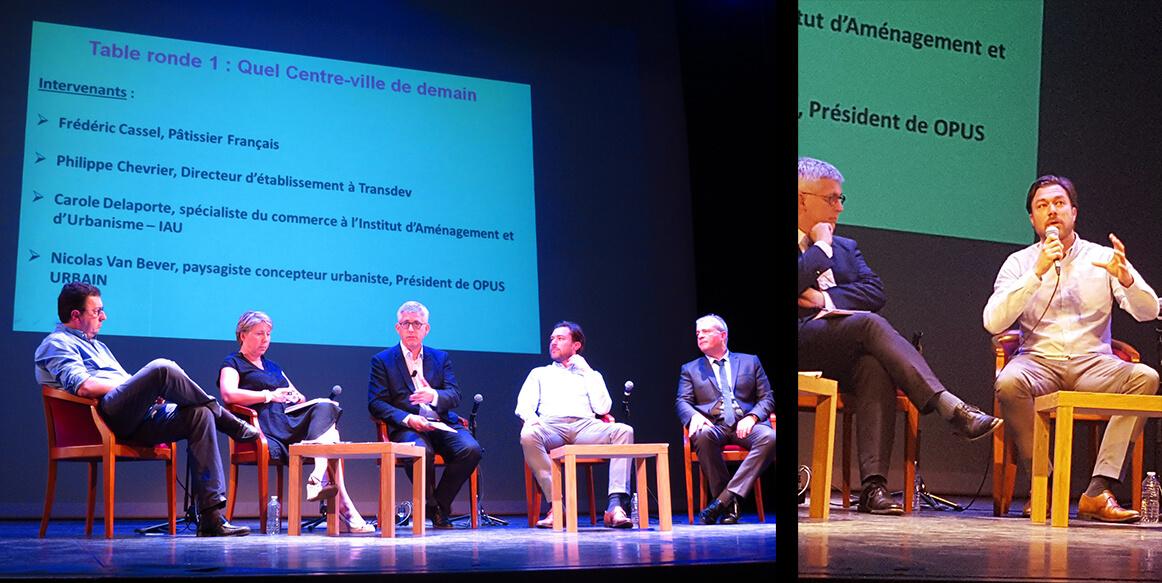 Fontainebleau 2030: table ronde sur les enjeux des centres villes de demain