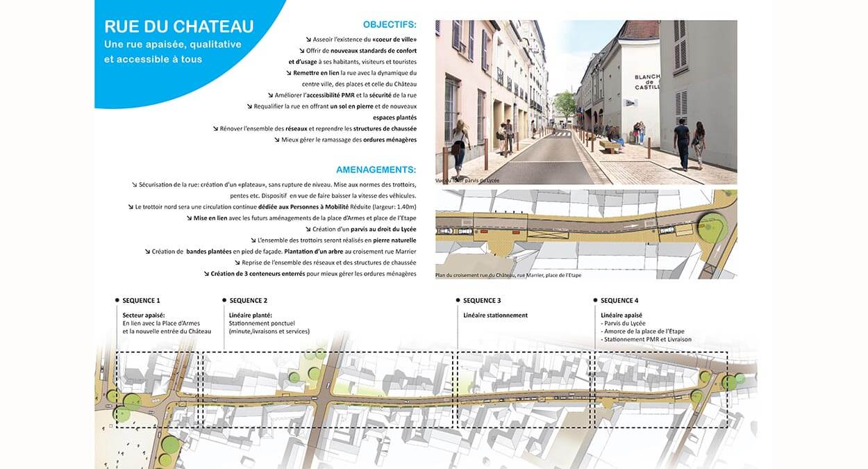Rue du Château - fontainebleau
